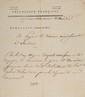 BONAPARTE (Napoléon). Ordre signé « Bonaparte », adressé à Pierre-Joseph-Marie Baude, payeur du deuxième ar-rondissement à Alexandrie. Alexandrie, 11 thermidor an VII [29 juillet 1799]. 3/4 p. in-folio, en-tête imprimé « Bonaparte, général en chef »,