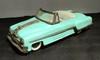 Miniature en tôle représentant une automobile américaine, long : 25,5 cm