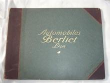 Catalogue BERLIET 1906