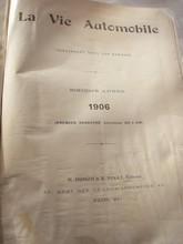 LA VIE AUTOMOBILE 1906
