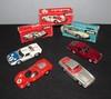 SOLIDO : Lot comprenant une Ford GT 40 ; une Ferrari 330 P3 ; une Maserati 3,5 L et une Maserati Mistral