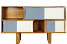Pascal BOUILLAULT (XXe) Grand meuble modèle
