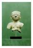équateur, La Tolita, Monte Alto. Période créative 200 avant -100 après J.-C.   TORSE d'une statue féminine. Terre cuite grise.  H. 16 cm