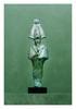 Égypte, époques tardives.  OSIRIS. Bronze  Cassures, manques et parties refaites.  H. 30,5 cm