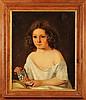 DROLLING MARTIN (1752-1817) ATTRIBUE A « Enfant à la Légion d'honneur » Huile sur toile marouflée sur carton 49 x 40 cm (quelques restaurations)