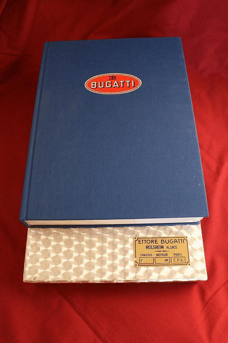 Bugatti - Magnum, par H. Conway et M. Sauzay, EPA, 1989, très belle dédicace de M.Sauzay à Lucien Loreille.