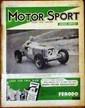 MOTOR SPORT Lot comprenant l'année 1938 complète (12 n°) et 1939 (10 n°), on y joint 9 autres numéros (1931/1940)
