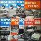MOTOR TREND Collection non reliée comprenant les années 1950 à 1962 (il manque les numéros 5/1952, 3 et 8/1953, 9 à 12/1961, 2-3 et 7/1962). On y joint les numéros 10 et 11/1949 et les 6 premiers mois de 1963