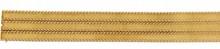 LARGE BRACELET en or jaune composé de trois bandes d'or texturées soulignées par quatre liens d'or tressés.    Longueur: 21,7 cm    Largeur: 2,8 cm    Poids brut: 85,95 g         A YELLOW GOLD BRACELET.