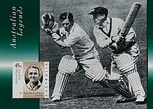Australian Post items australian Legends Series of
