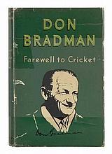 Don Bradman Farewell to Cricket. Size: 14.3 X 10.4