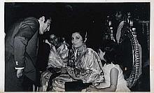 a - c. B/W Glossy Photosof 1968 Wedding of Tiger Pataudi and Sharmila Ragore
