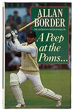Allan Border The Australian Captain in England A