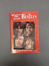 BEATLES JOHN LENNON LENTICULAR MAGAZINE COVER