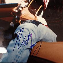 NEIL YOUNG A SIGNED PHOTOGRAPH