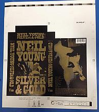 NEIL YOUNG SILVER & GOLD RARE PROOF