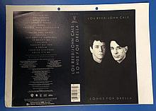 LOU REED JOHN CALE  ORIGINAL PROOF