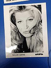 TAYLOR DAYNE SIGNED PHOTO