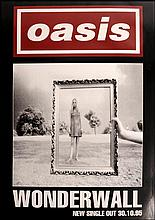 OASIS POSTER FOR WONDERWALL