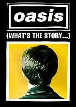 OASIS POSTER FOR MORNING GLORY BLACK NOEL VERSION