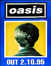 OASIS POSTER FOR MORNING GLORY BLUE NOEL VERSION