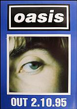 OASIS POSTER FOR MORNING GLORY LIAM EYE VERSION