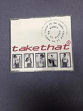 TAKE THAT RARE 8 TRACK CD