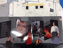 DAVID BOWIE ORIGINAL PRODUCTION ARTWORK FOR LOVING THE ALIEN 12