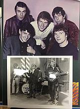 VAN MORRISON AND THEM 2 PHOTOS ONE SIGNED