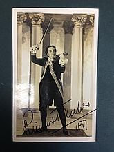 RICHARD TAUBER SIGNED PHOTOGRAPH