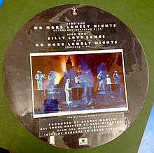 PAUL MCCARTNEY BEATLES NO MORE LONELY NIGHTS PICTURE DISC APPROVAL ARTWORK SAMPLE