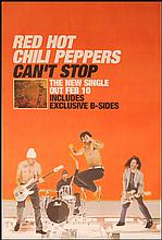 RED HOT CHILLI PEPPERS UK POSTER