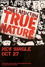 JANE'S ADDICTION RARE UK POSTER