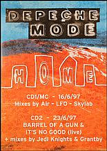 DEPECHE MODE RARE UK POSTER