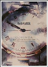 KULA SHAKER RARE UK PROMO POSTER FOR GOVINDA
