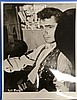 DIRK BOGARDE ORIGINAL PUBLICITY PHOTOGRAPH STAMPED ON VERSO