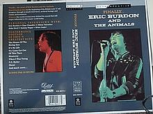ERIC BURDON & THE ANIMALS TWO ORIGINAL ALTERNATE CROMALIN PROOFS FOR 'FINALLY'