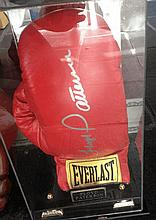 Boxing A Floyd Patterson signed glove