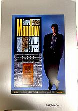 BARRY MANILOW PRODUCTION SAMPLE FOR SWING STREET POSTER