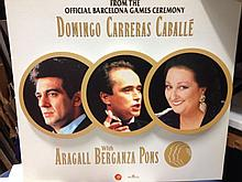 Barcelona Olympics DOMINGO CARRERAS CABALLE SAMPLE ARTWORK