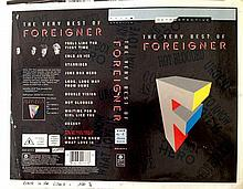 FOREIGNER SUPER RARE ORIGINAL PROOF FOR 'BEST OF'