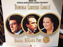 Barcelona Olympics DOMINGO CARRERAS CABALLE SAMPLE ARTWORK