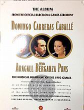 Barcelona Olympics DOMINGO CARRERAS CABALLE Cromalin Proof