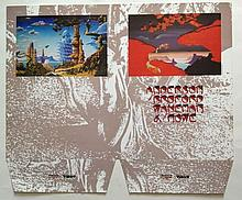 YES - Anderson Bruford Wakeman Howe PROOF SAMPLE FOR PRESS FOLDER