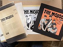 MOJOS Super Rare Original Production artwork for The Mojos EP from 1964