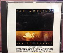 Van Morrison Press promo sampler for Avalon Sunset