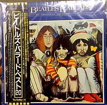 Beatles Ballads Japanese album