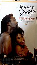 ASHFORD & SIMPSON ORIGINAL POSTER FOR COUNT YOUR BLESSINGS