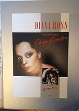 DIANA ROSS PRODUCTION ARTWORK CHAIN REACTION