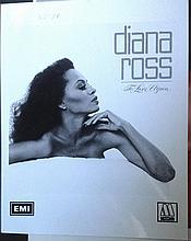 DIANA ROSS MOTOWN PUBLICITY PHOTOGRAPH
